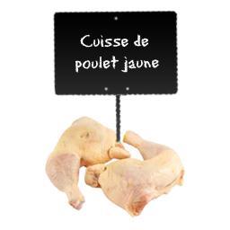 Cuisses de poulet fermier jaune Label Rouge