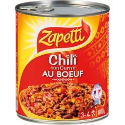 Chili con Carne au bœuf
