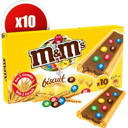 Biscuits chocolat au lait et minis M&M's