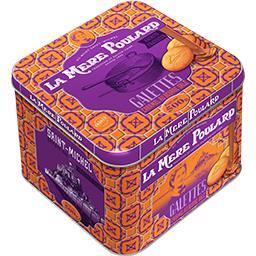 La Mère Poulard Galettes caramel au beurre salé la boite de 500 g