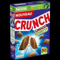 Nestlé Céréales Crunch - Céréales choco noisette