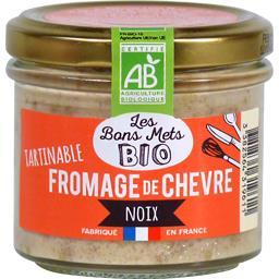 Tartinable fromage de chèvre noix BIO