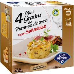 Mini gratins de pommes de terre Sarladaise