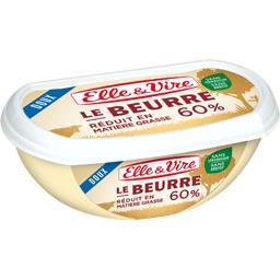 Le Beurre réduit en matière grasse 60%, doux