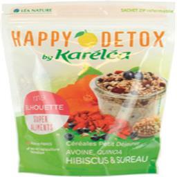 Karéléa Happy Détox - Céréales Ma Silhouette avoine hibiscus... le paquet de 300 g