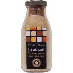 Riz au lait caramel au sel de Guérande