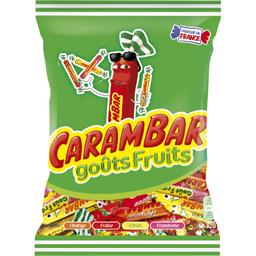 Carambar Bonbons goûts fruits