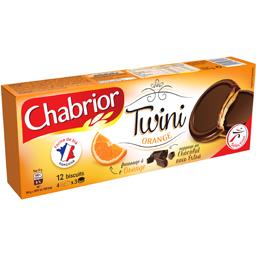 Chabrior Biscuits Twini orange le paquet de 125 g