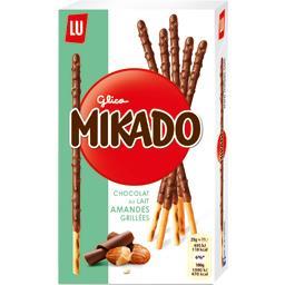 Mikado - Biscuits chocolat au lait amandes grillées