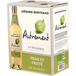 Vin de pays d'Oc Autrement BIO, vin blanc