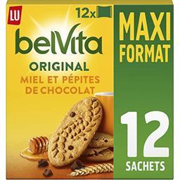 LU LU Belvita Petit Déjeuner - Biscuits 5 céréales complèt...