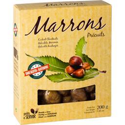 Marrons précuits sans gluten