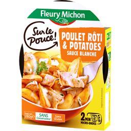 Sur le Pouce - Poulet rôti & potatoes sauce blanche