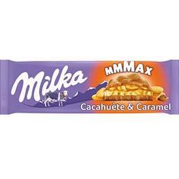 Chocolat au lait cacahuète & caramel