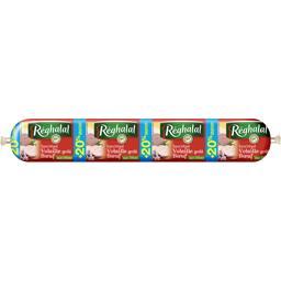 Réghalal Saucirégal volaille goût bœuf aux olives halal la saucisse de 600 g - 20% gratuit