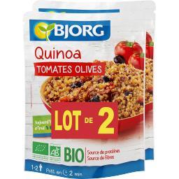 Quinoa tomates olives BIO