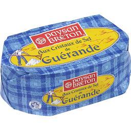 Beurre moulé aux cristaux de sel de Guérande