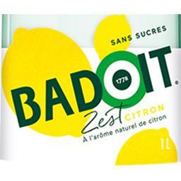 Boisson pétillante citron