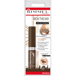 Rimmel London Brow This Way - Mascara sourcils 002 Brown le flacon de 5 ml