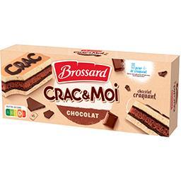 Brossard Gâteaux Crac & Moi chocolat les 5 gâteaux de 31 g