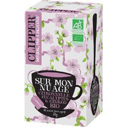 Clipper Infusion citronnelle, eucalyptus & ginkgo BIO la boite de 20 sachets - 35 g