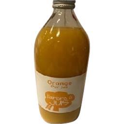 Orange pur jus