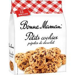 Petits cookies pépites de chocolat