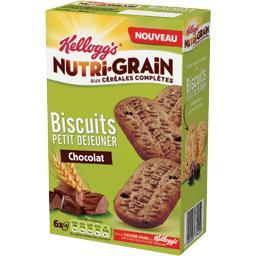 Nutri-Grain - Biscuits petit déjeuner chocolat