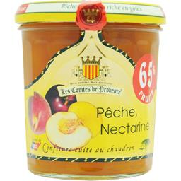 Confiture pêche , nectarine