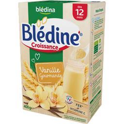 Blédine Croissance - Céréales instantanées vanille g...