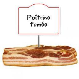 Poitrine FUMEE