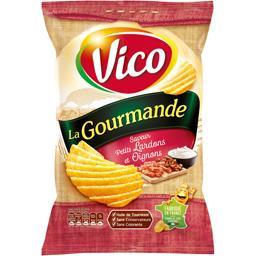 Chips La Gourmande saveur petits lardons et oignons