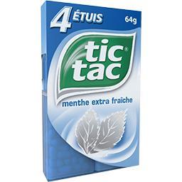 Tic Tac Pastilles menthe extra fraîche