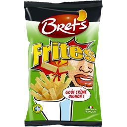 Biscuits apéritif Frites goût crème oignon