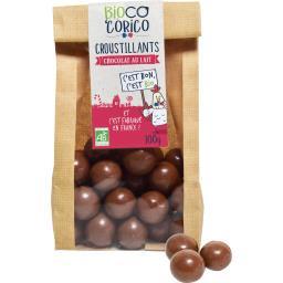 Croustillants chocolat au lait BIO