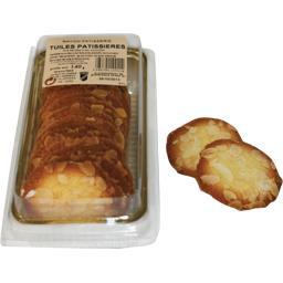 Tuiles pâtissières pur beurre et aux amandes