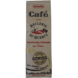 Café moulu 50% arabica 50% robusta