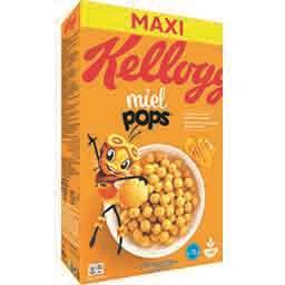 Kellogg's Miel Pops - Céréales maïs soufflé au miel