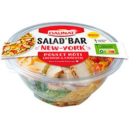 Daunat Salad'Bar - Salade New-York poulet & bacon cheddar p...
