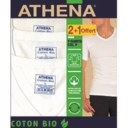 Tee-shirts col V coton BIO taille 4