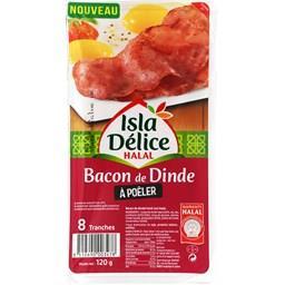 Bacon halal de dinde Isla Délice
