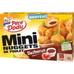 Mini nuggets de poulet barbecue
