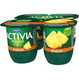 Activia - Lait fermenté au bifidus ananas