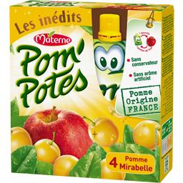 Pom'Potes - Compote pomme mirabelle