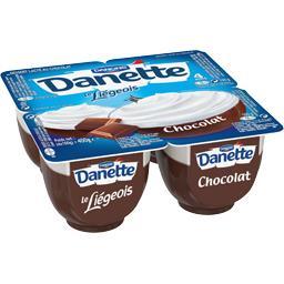 Danette - Dessert Le Liégeois chocolat