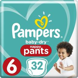 Baby-dry - pants - taille 6 15+ kg - couches-culotte...