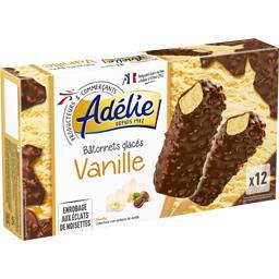 Bâtonnets glacés vanille