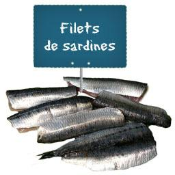 Filet de SARDINE La portion à la demande à partir de 300gr