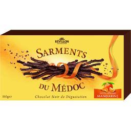 Sarments du Médoc chocolat noir mandarine