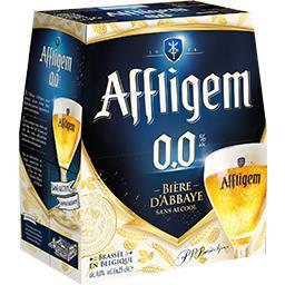 Bière d'abbaye sans alcool